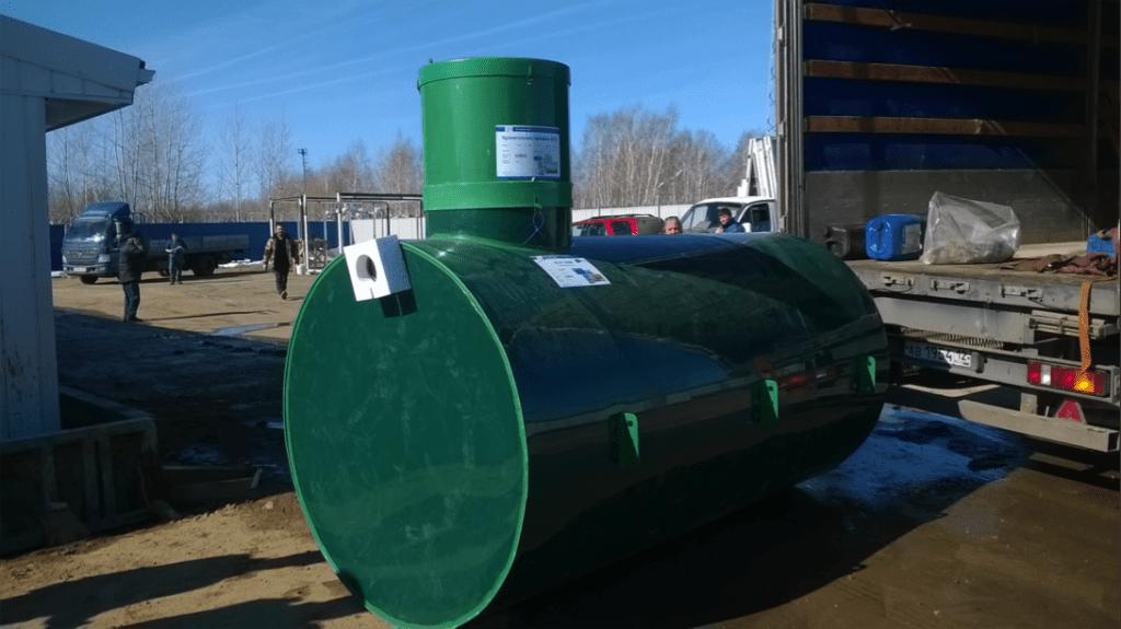Пластиковые ёмкости для воды (подземного исполнения)