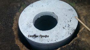 Установка и монтаж бетонных колец